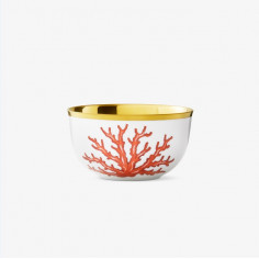 Champagne bowl, white with...