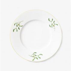 Dinner plate 25cm, Mistletoe